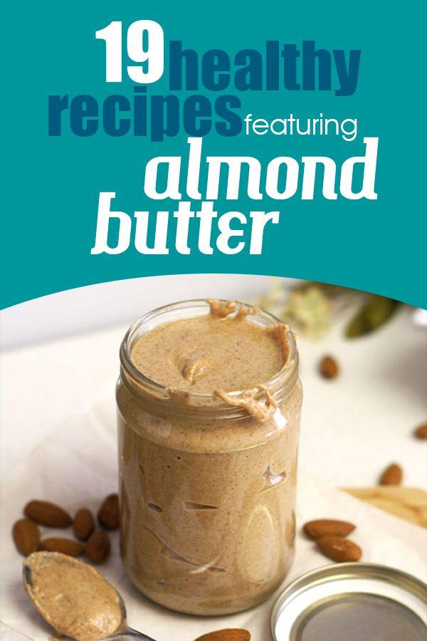 almond butter dessert recipes