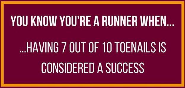runner toenail issues